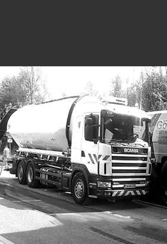 Wassertankwagen für Baustellen