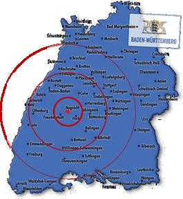 Strassenreinigung in Süddeutschland